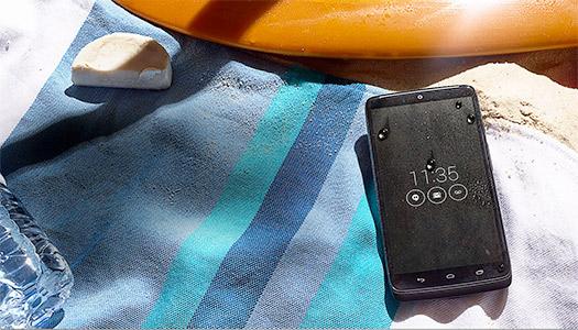 Moto Maxx en México contra salpicaduras de agua