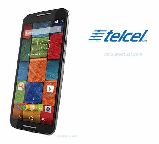 Moto X 2014 con Telcel