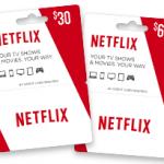 Tarjetas de regalo de Netflix ya en México