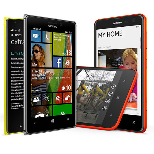 Nokia Lumia Cyan actualización en smartphones Lumia de Nokia