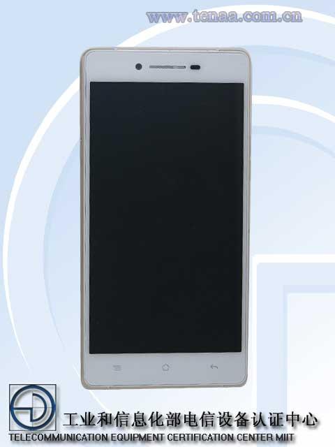 El Oppo R8207  desde TENAA pantalla