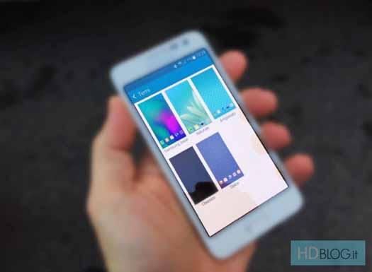Samsung con temas TouchWiz