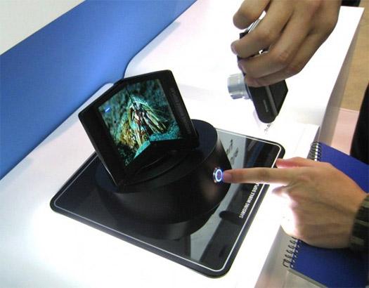 Samsung pantalla folder flexible