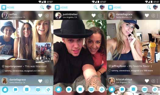 Shots app de Justin Bieber