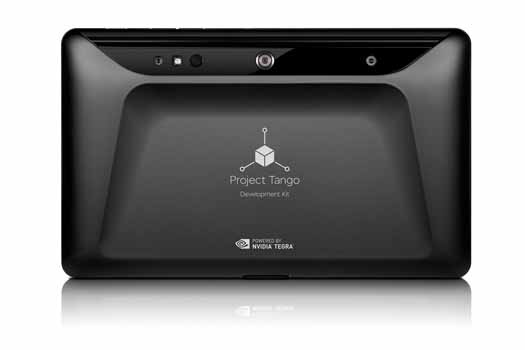 Tablet 3D Project Tango posterior