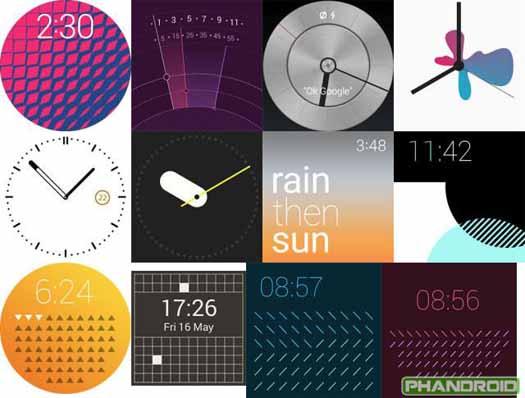 Android Wear 5.0 personalizaciones