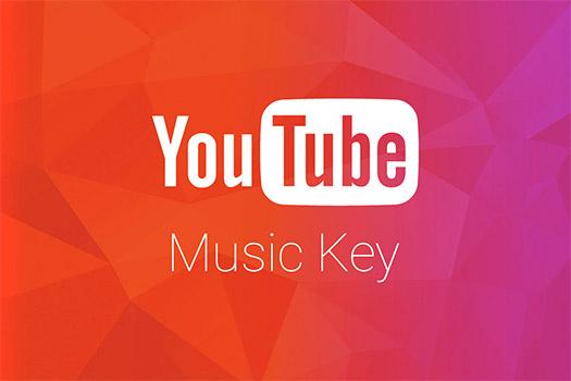 Youtube Music Key Logo