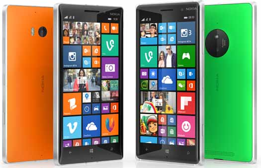 Lumia 830 y Lumia 9301 con Denim