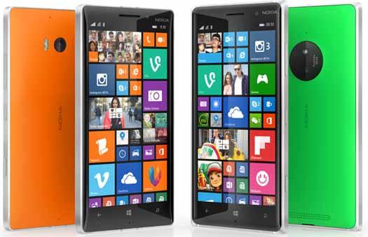 Lumia 830 y Lumia 9301 con Denim