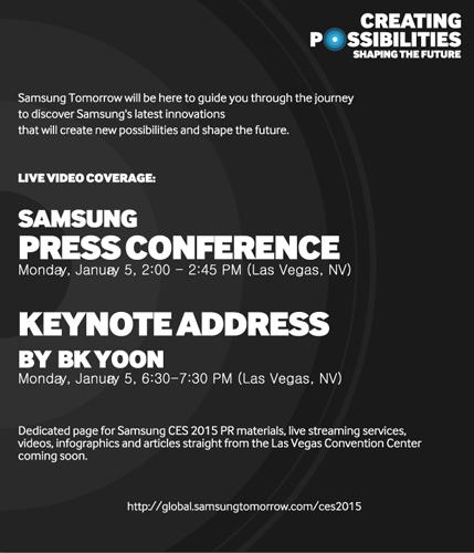 Samsung comunicado CSE 2015