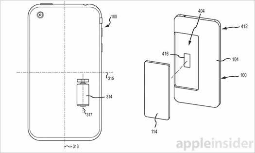 Apple patente sistema anticaídas