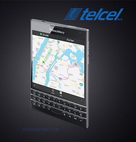 BlackBerry Passport en México con Telcel