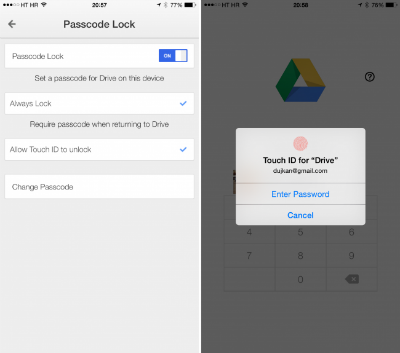 google-drive-ios-iPhone-touch-id