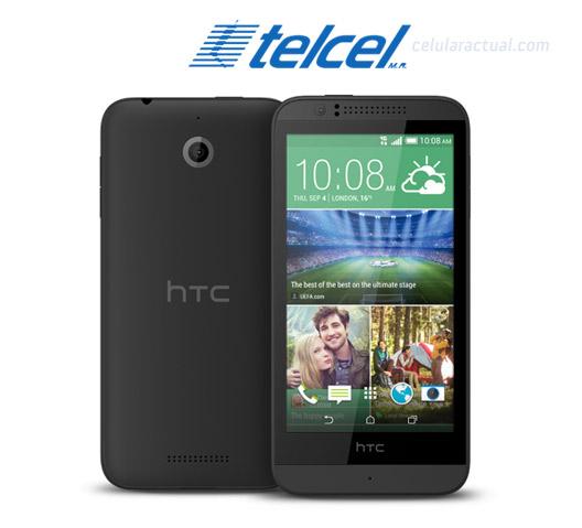 HTC Desire 510 LTE en México con Telcel