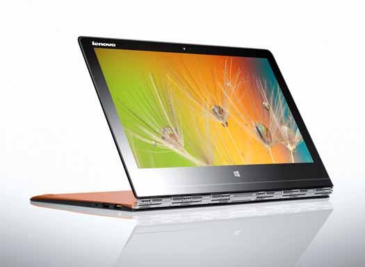 Lenovo Yoga 3 Pro teclado inverso