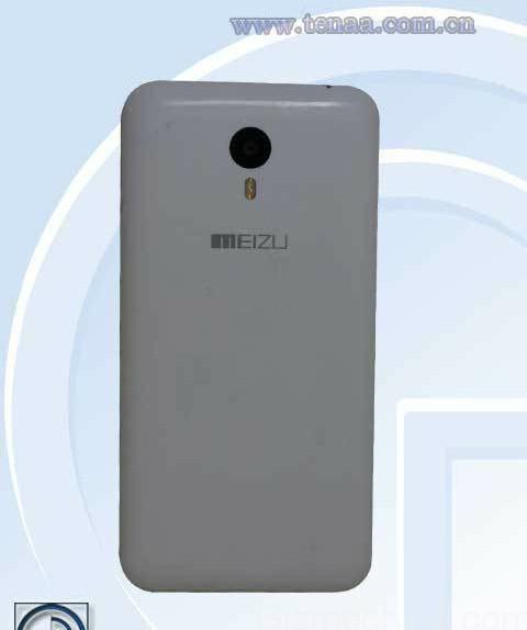 Meizu Blue Charm Note filtrado reverso