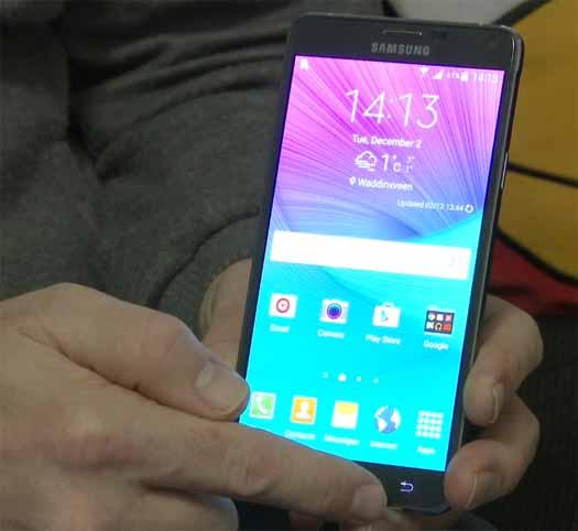 Android 5.0 en Galaxy Note 4