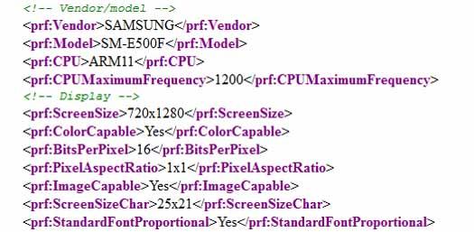 Samsung Galaxy E5 SM-500 en filtración