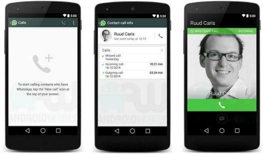 Las llamadas de voz gratis llegan a WhatsApp