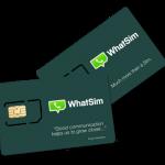 WhatSim, primer SIM para tener WhatsApp ilimitado, disponible para México