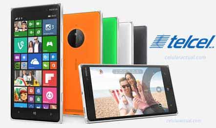 Lumia 830 en Telcel