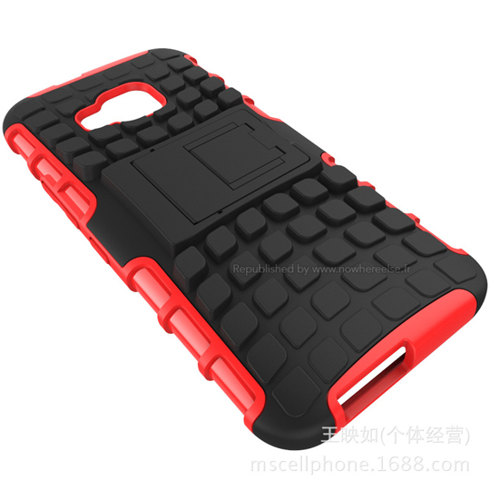 Funda HTC One M9 roja trasera