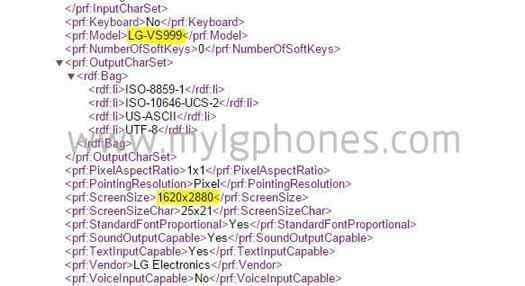 Código de LG G4 filtrado con pantalla 3K