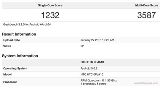 Pruebas HTC One M9