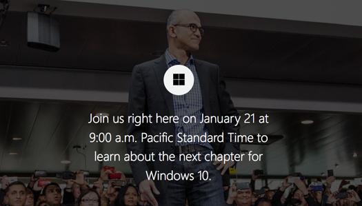 Windows 10 presentación enero 2015