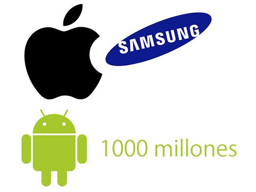 Apple por fin alcanza a Samsung en venta de smartphones en T4 2014