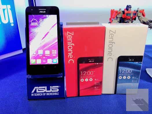 ASUS ZenFone C con caja