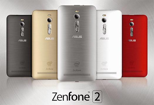 Asus Zenfone 2 oficial desde el CES 2015
