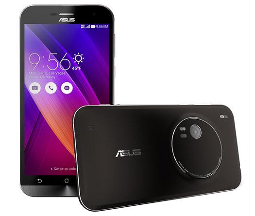 ASUS Zenfone Zoom oficial pantalla y cámara trasera