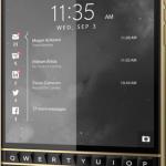 BlackBerry Passport Edición limitada Negro y Oro es lanzado