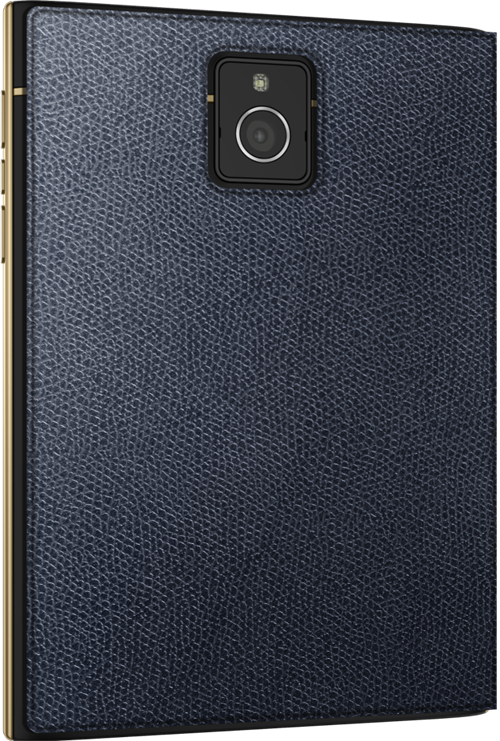 BlackBerry Passport Limited Edition Black & GoldBlackBerry Passport Limited Edition Black & Gold cubierta trasera