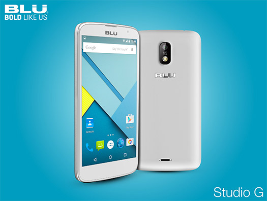 Blu Studio G color blanco CES 2015