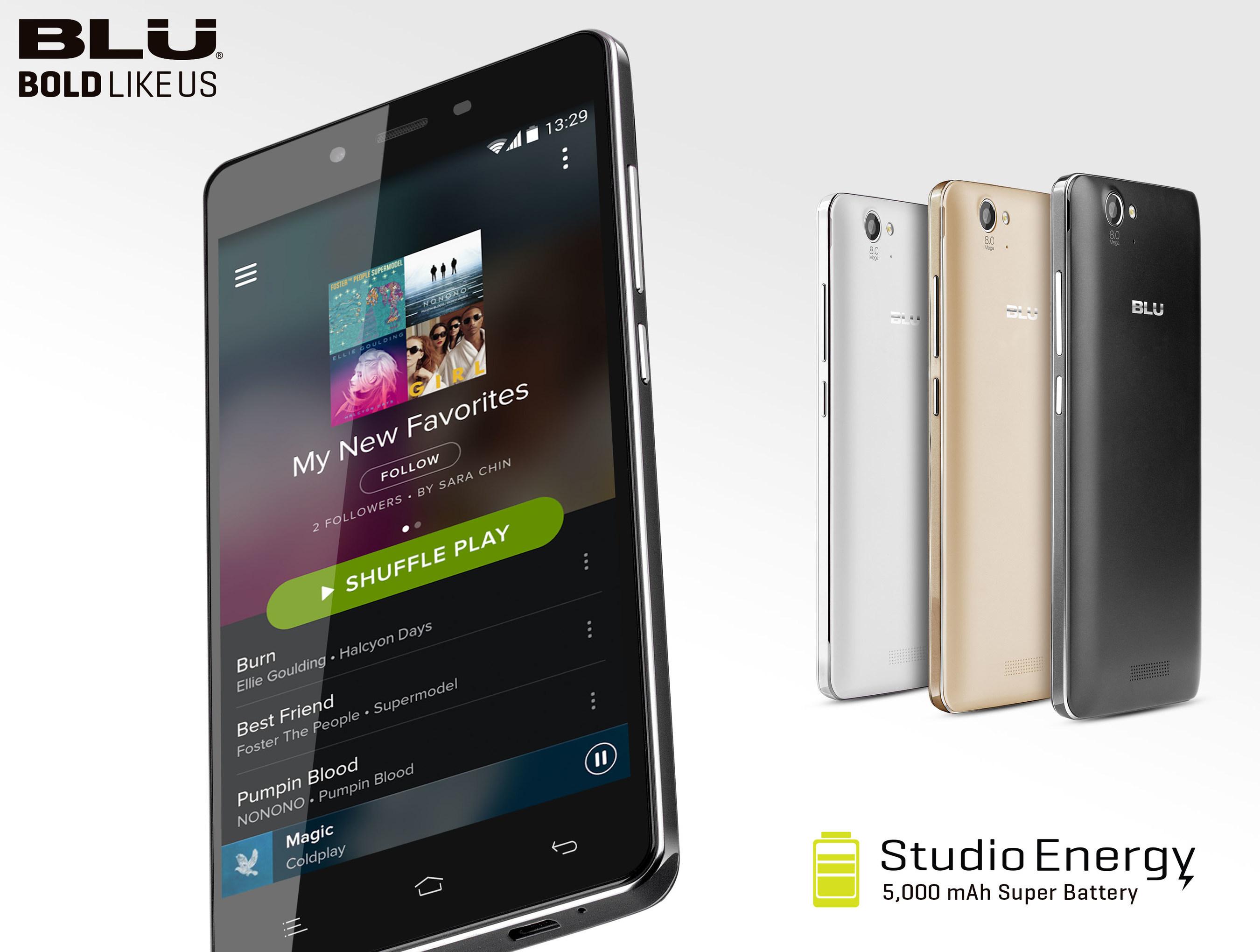 Blu Studio Energy con batería de 5000 mAh