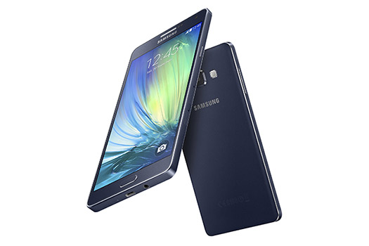 Samsung Galaxy A7 color negro