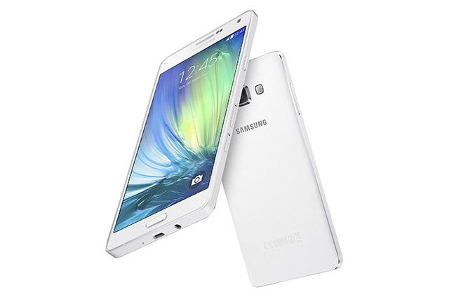 Samsung Galaxy A7 color blanco