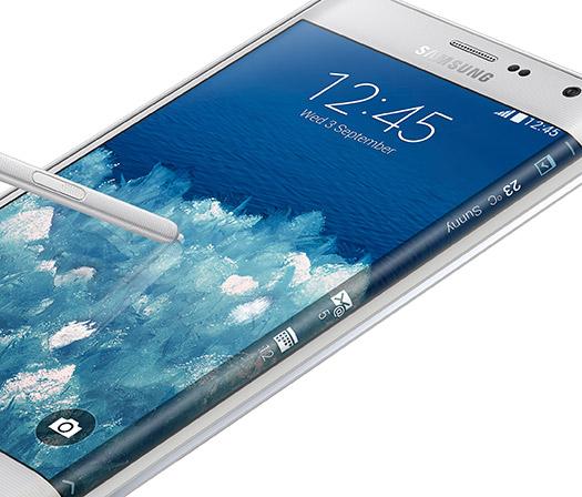 Samsung Galaxy Note Edge detalle