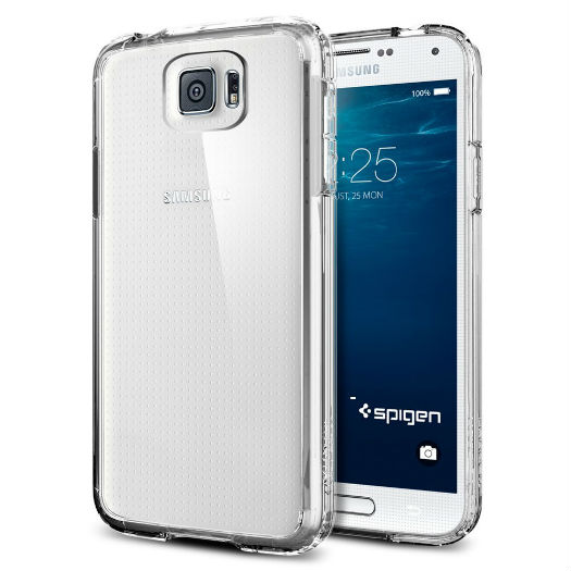 Galaxy S6 Spigen transparente