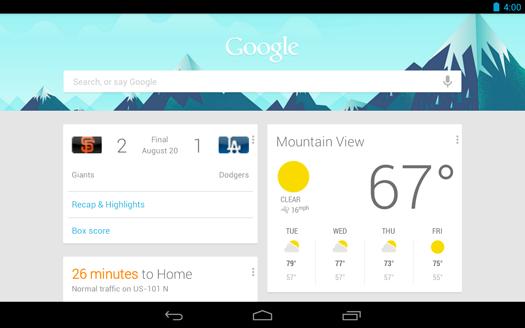 Google 4.1 notificaciones
