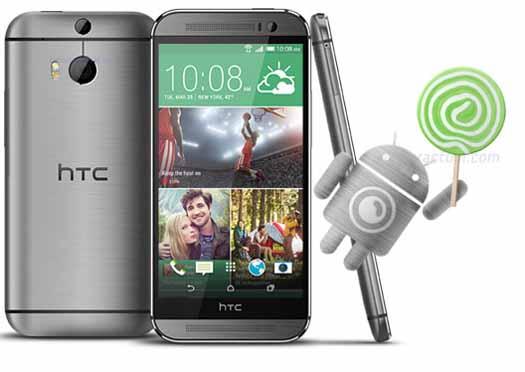 Lollipop para HTC