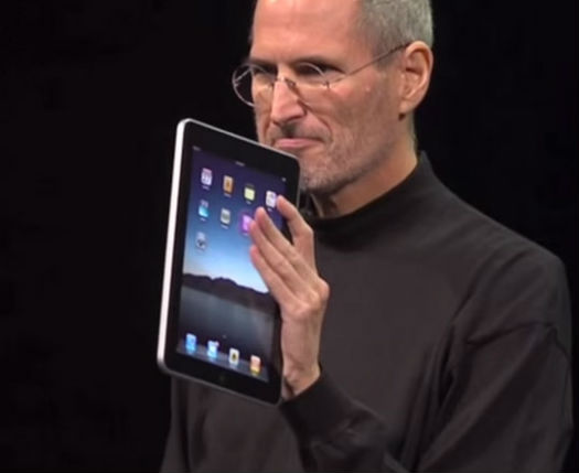 iPad presentación Steve Jobs