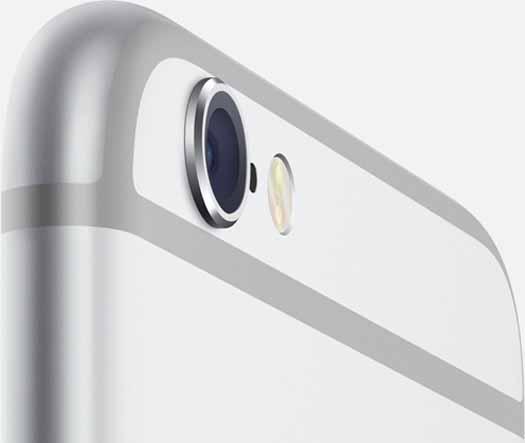 iPhone 6 detalle de cámara