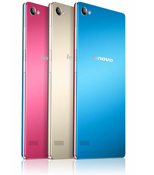 Lenovo Vibe X2 Pro colores parte trasera