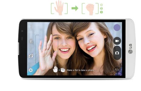 LG L Bello D331 Gestos para tomar fotos