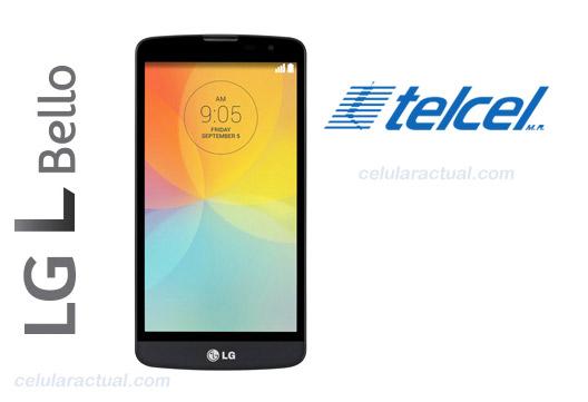 LG L Bello D331 en México con Telcel