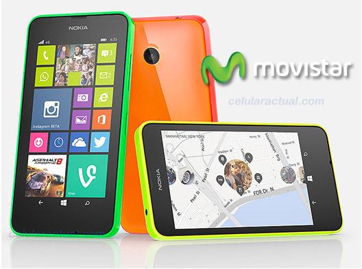 Microsoft Lumia 635 LTE con Windows Phone 8.1 en México con Movistar