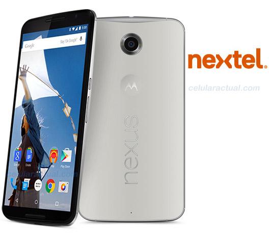 Motorola Nexus 6 en México con Nextel